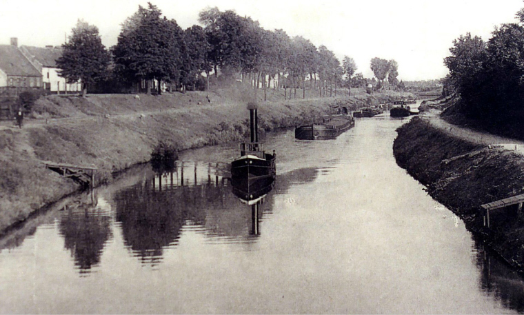 1925 Beernem Louisabrug stoomsleepboot 1