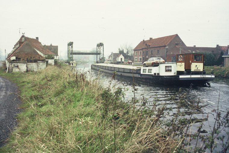 1984-vjaar Moerbrugge-brugkanaal