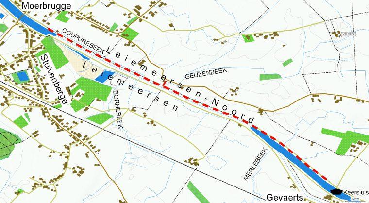 Wandelkaart_Leiemeersen-Noord_1